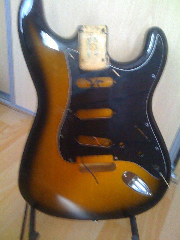 quelques bonnes surprises pour cette guitare