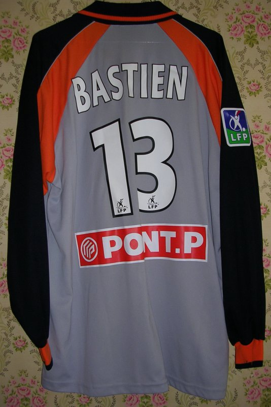 Maillot F.C. LORIENT BRETAGNE-SUD Christophe BASTIEN 2003