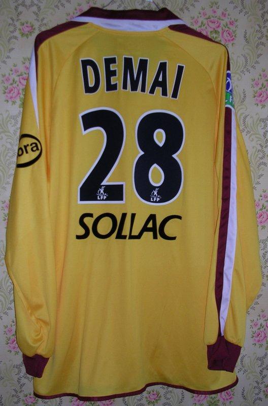 Maillot F.C. METZ Aïmen DEMAI 2003