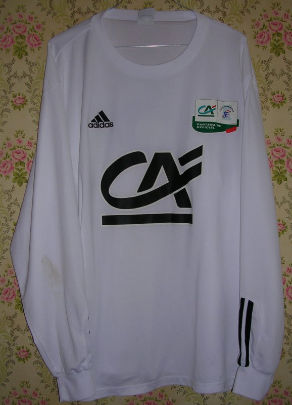 Maillot F.C. METZ Ludovic OBRANIAK 2003