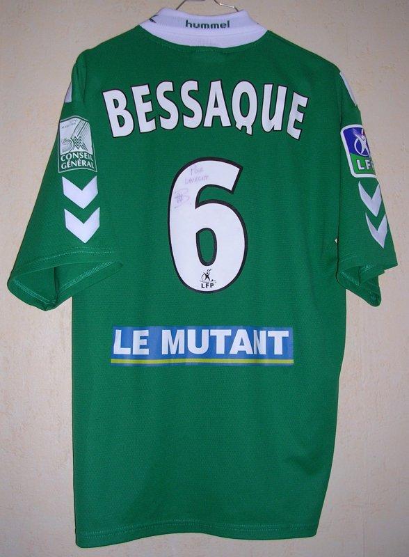 Maillot F.C. ROUEN Mickaël BESSAQUE 2003