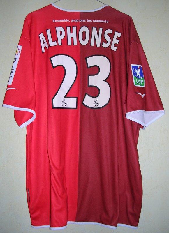Maillot GRENOBLE FOOT 38 Alexandre ALPHONSE 2003