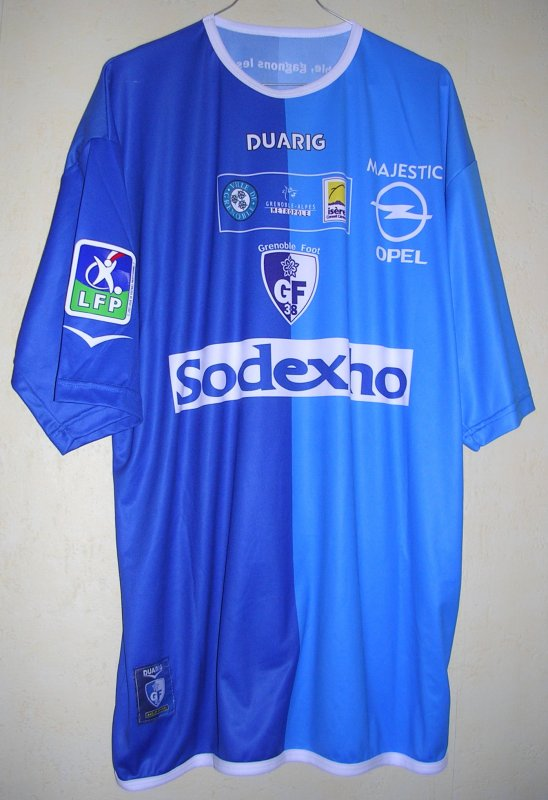 Maillot GRENOBLE FOOT 38 Mamary TRAORE 2003