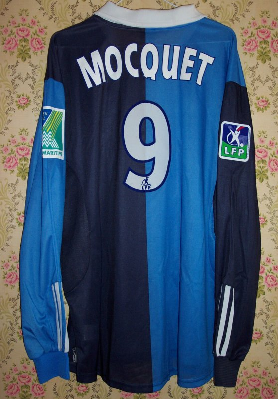 Maillot LE HAVRE A.C. William MOCQUET 2003