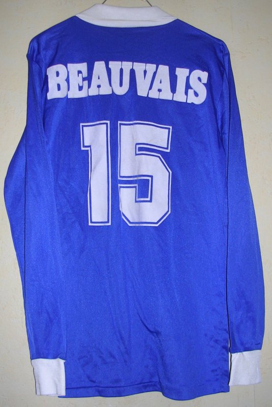 Maillot A.S. BEAUVAIS-OISE 1987