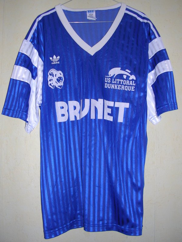 Maillot U.S. LITTORAL-DUNKERQUE 1992