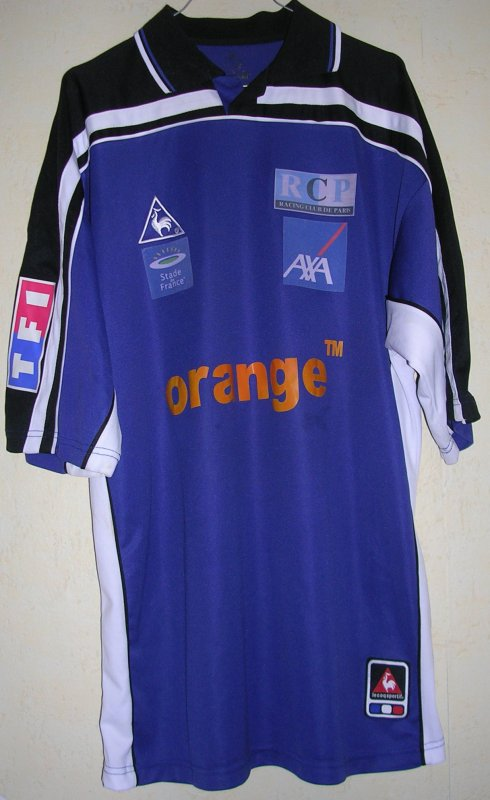 Maillot RACING CLUB PARIS 2001