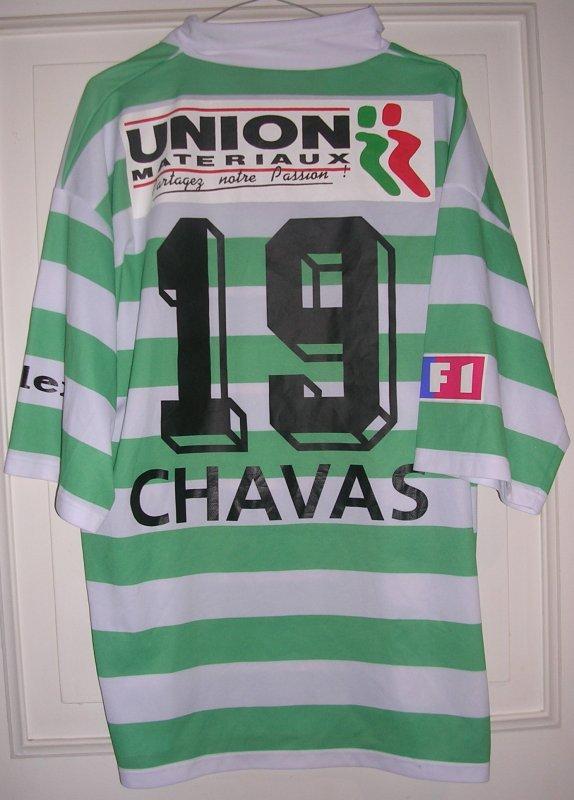 Maillot F.C. SETE 34 Ulrick CHAVAS 2003