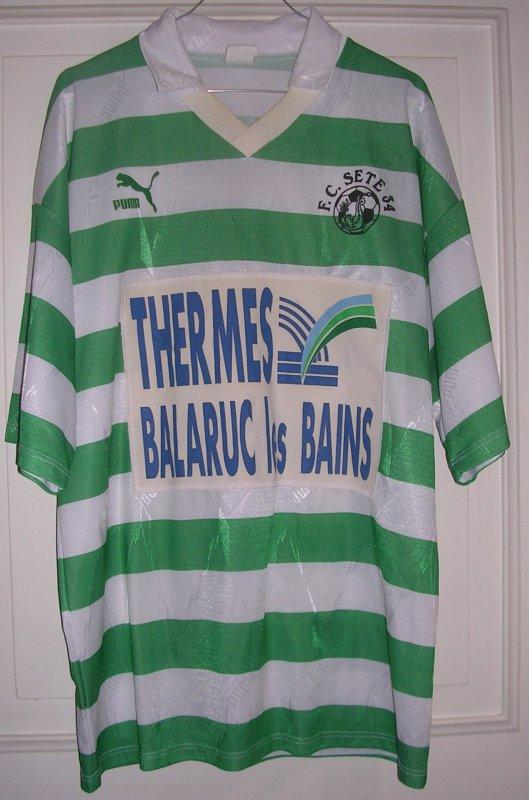 Maillot F.C. SETE 34 1994