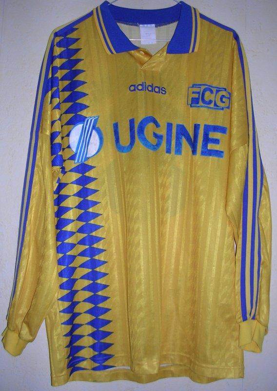Maillot F.C. GUEUGNON 1995