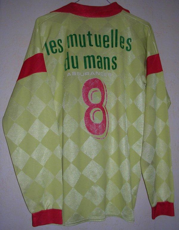 Maillot LE MANS U.C. 72 1988