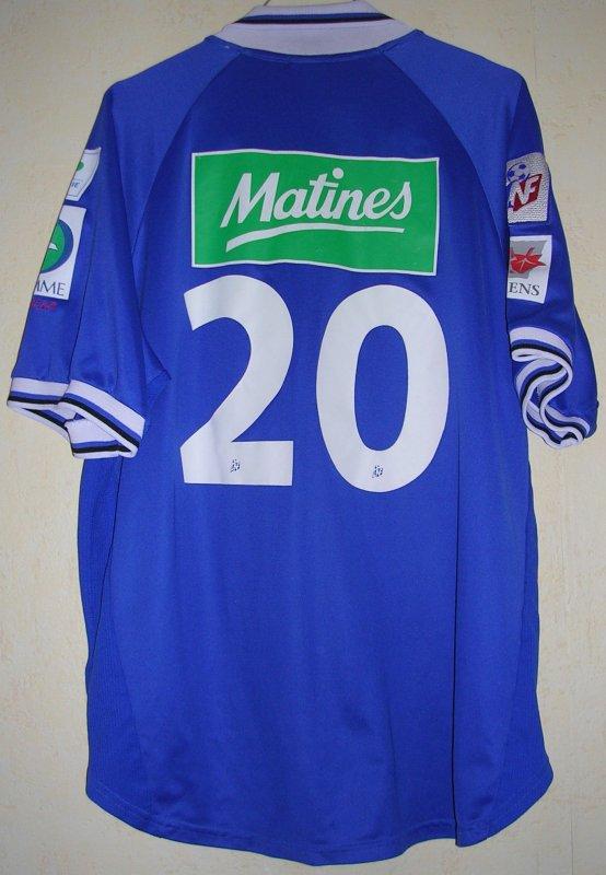 Maillot AMIENS S.C.F. Ludovic JUMEL 1998
