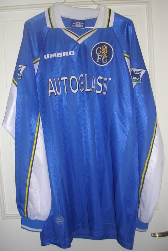Maillot CHELSEA F.C. Marcel DESAILLY 1998