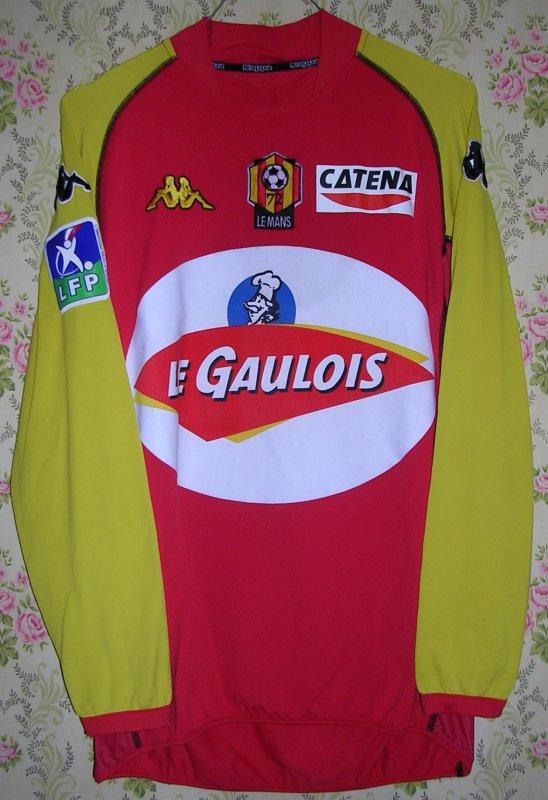 Maillot LE MANS U.C. 72 Jacques-Désiré PERIATAMBEE 2003
