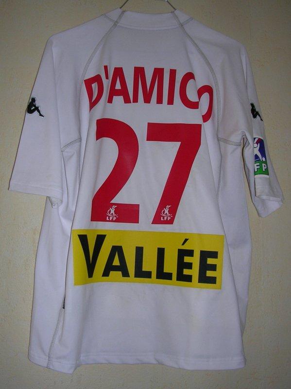 Maillot LE MANS U.C. 72 Fernando D'AMICO 2003