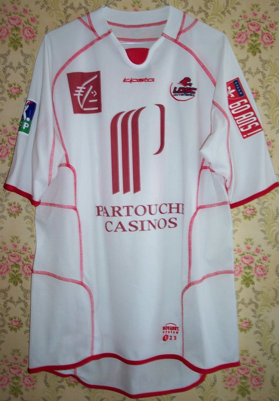 Maillot LILLE O.S.C. Stéphane PICHOT 2003