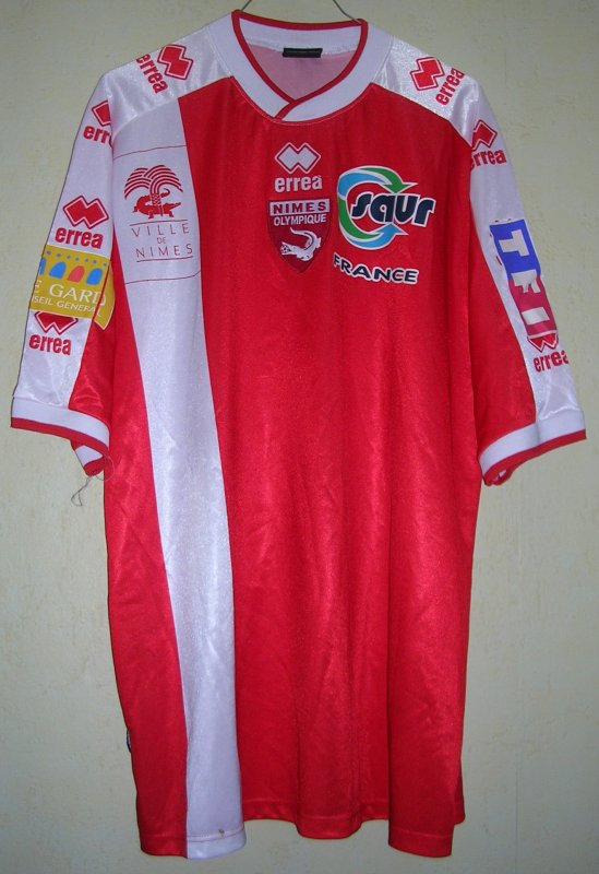 Maillot NIMES OLYMPIQUE 2003