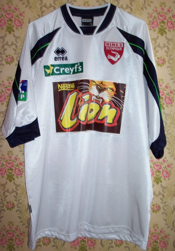 Maillot NIMES OLYMPIQUE Kevin GRAU 2003