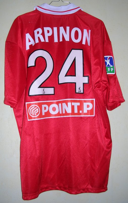Maillot NIMES OLYMPIQUE Fréderic ARPINON 2003