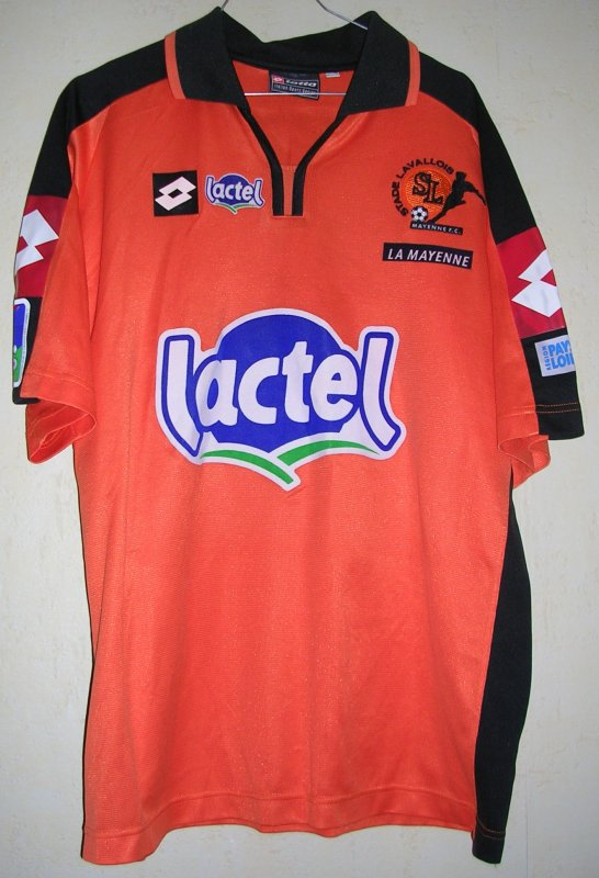 Maillot STADE LAVALLOIS Anthony GARCIA 2003