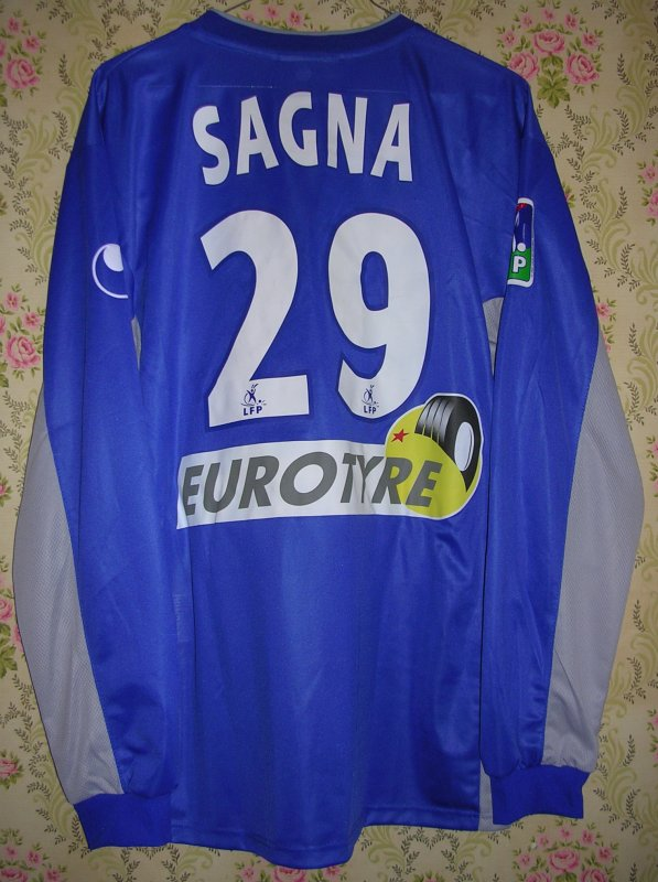 Maillot A.J. AUXERRE Bakary SAGNA 2004