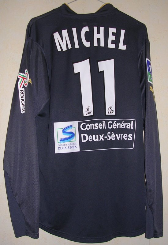 Maillot CHAMOIS NIORTAIS Samuel MICHEL 2004