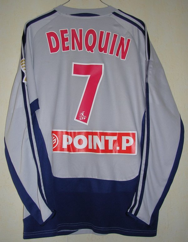 Maillot CLERMONT FOOT Jérémy DENQUIN 2004