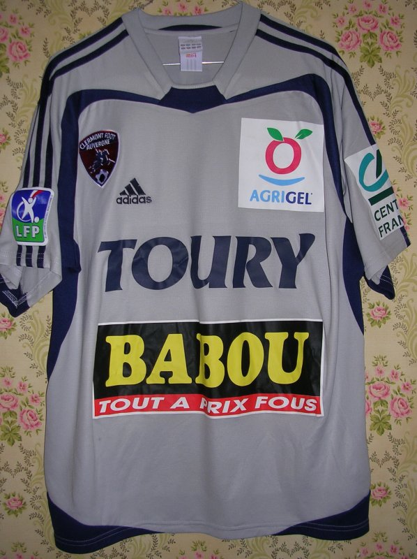 Maillot CLERMONT FOOT Fréderic BRANDO 2004