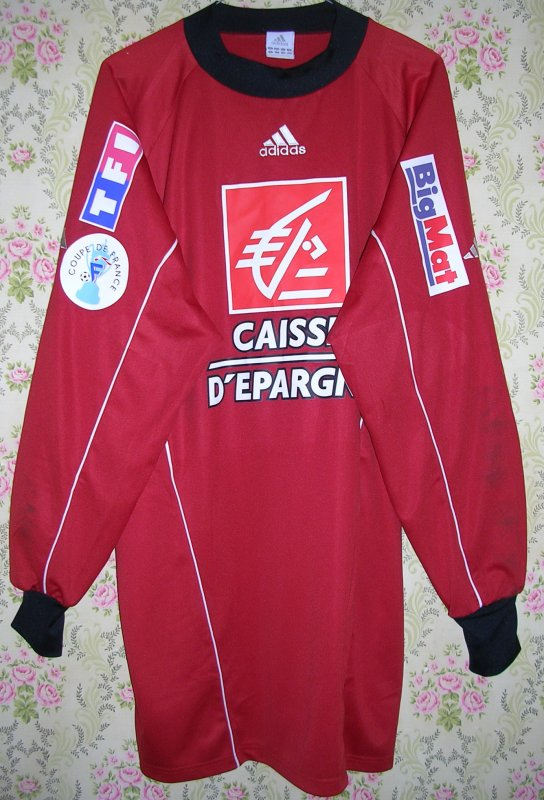 Maillot F.C. ISTRES OUEST-PROVENCE Laurent WEBER 2005
