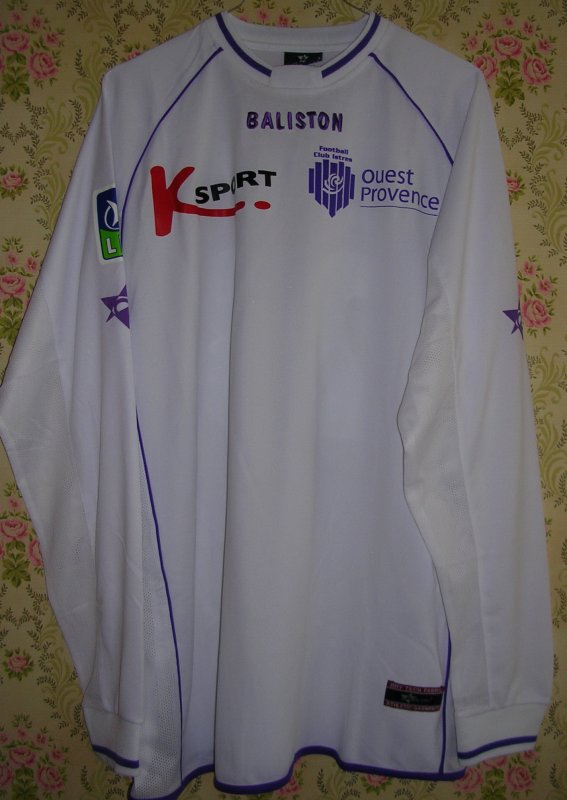 Maillot F.C. ISTRES OUEST-PROVENCE Moussa N'DIAYE 2004