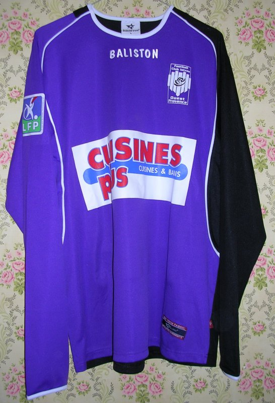 Maillot F.C. ISTRES OUEST-PROVENCE Abdoulaye DIAGNE-FAYE 2004