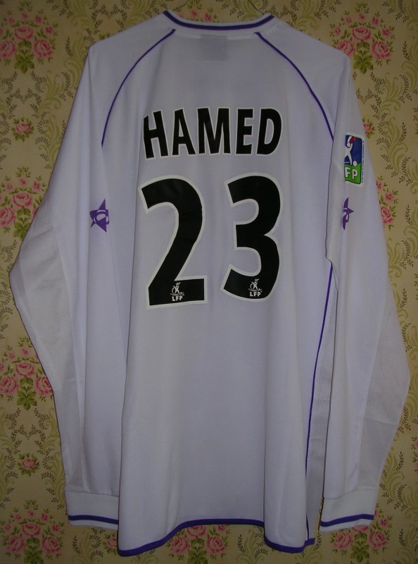 Maillot F.C. ISTRES OUEST-PROVENCE David HAMED 2004