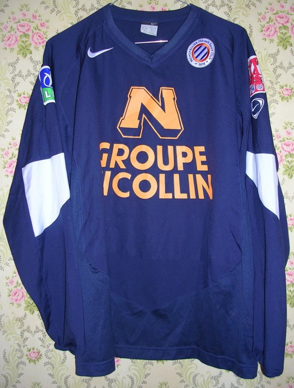 Maillot MONTPELLIER-HERAULT S.C. Abdoulaye CISSE 2004