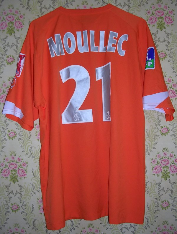 Maillot MONTPELLIER-HERAULT S.C. Gullaume MOULLEC 2004