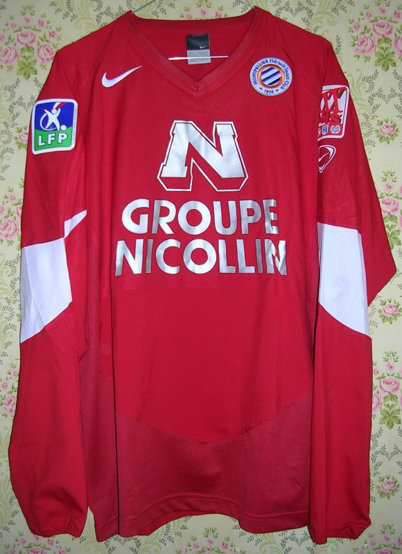 Maillot MONTPELLIER-HERAULT S.C. Julio COLOMBO 2004