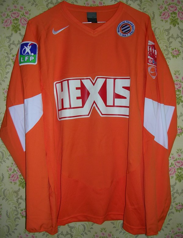 Maillot MONTPELLIER-HERAULT S.C. Jimmy MAINFROI 2004