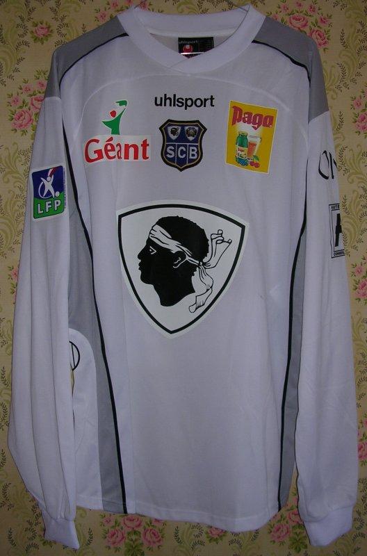 Maillot S.C. BASTIA Cédric URAS 2004