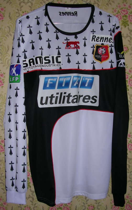 Maillot STADE RENNAIS F.C. Jacques FATY 2004
