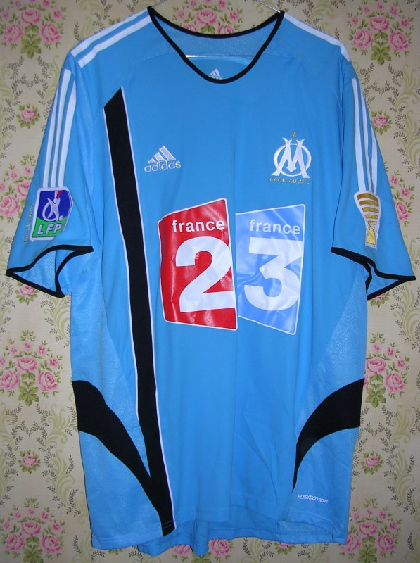 Maillot OLYMPIQUE MARSEILLE Fabien BARTHEZ 2006