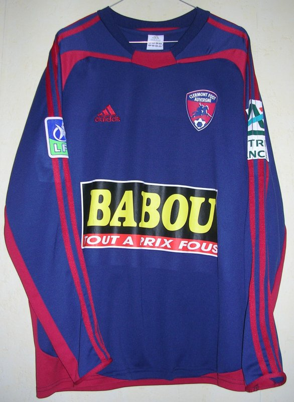 Maillot CLERMONT FOOT Sabri TABET 2005