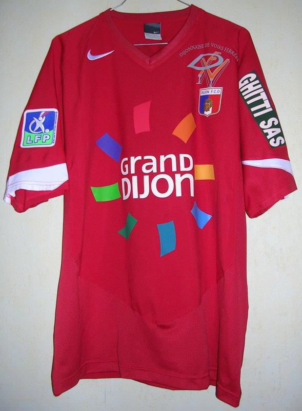 Maillot DIJON F.C.O Sébastien LARCIER 2005