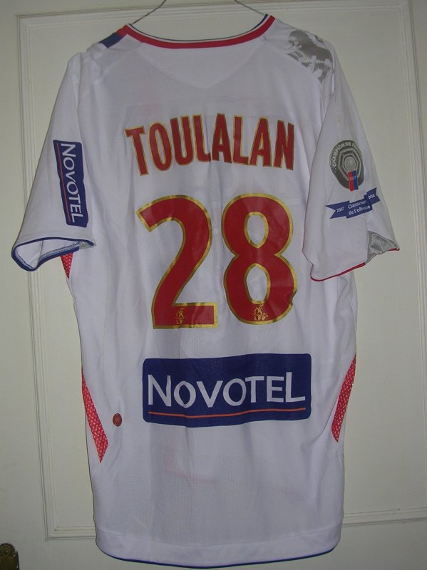 Maillot OLYMPIQUE LYONNAIS Jérémy TOULALAN 2006
