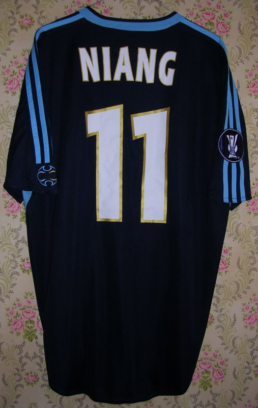 Maillot OLYMPIQUE MARSEILLE Mamadou NIANG 2006