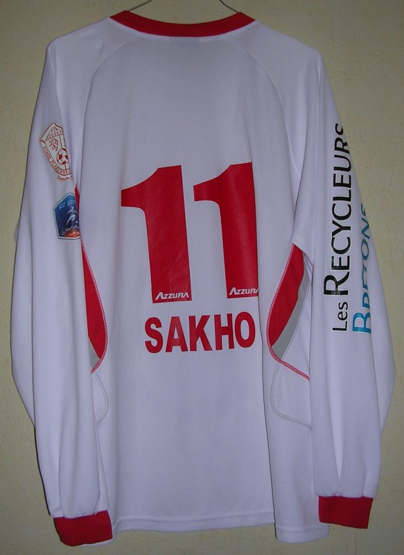 Maillot STADE PLABENNEC Mamadou SAKHO 2010