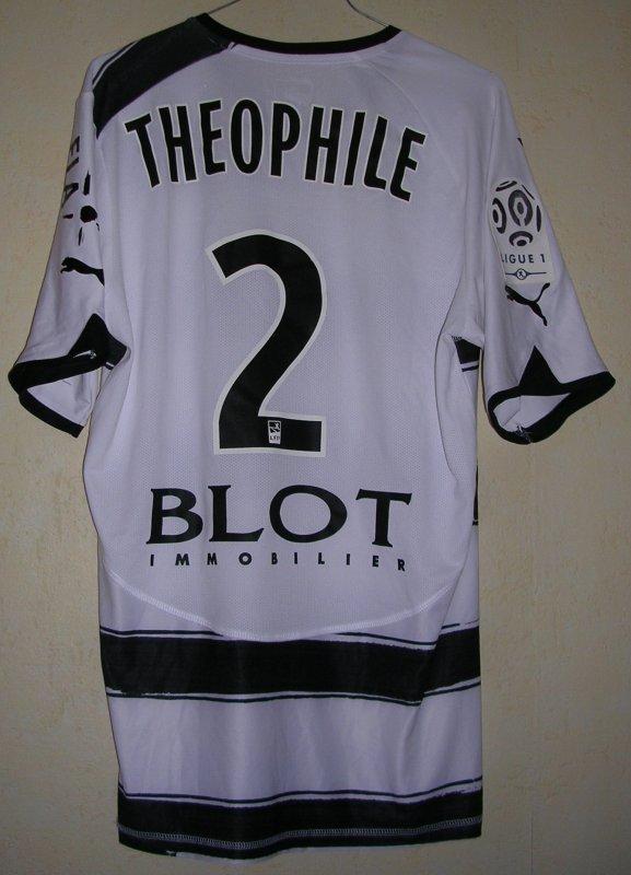 Maillot STADE RENNAIS F.C. Kévin THEOPHILE-CATHERINE 2010