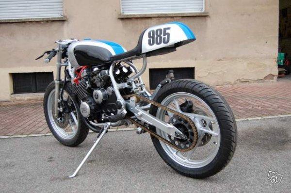 Yamaha 650 xj café racer