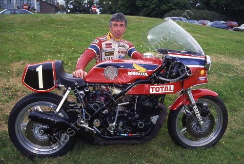 Honda RCB et Jean Claude Chemarin - Ma passion pour les motos