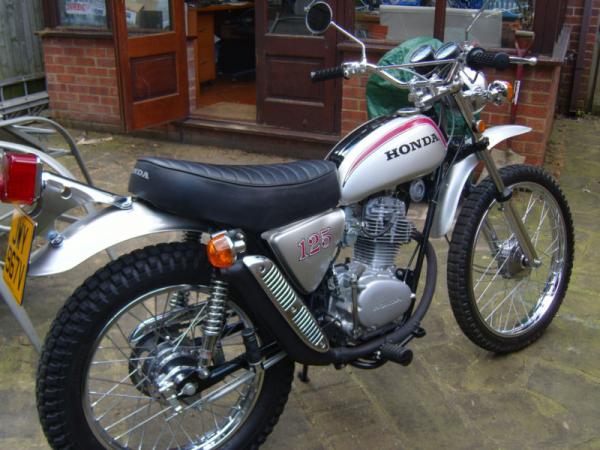 HONDA 125 SL