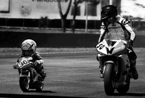 La moto de père en fils