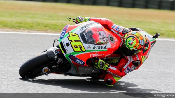 Rossi : dernière course sur DUCATI....